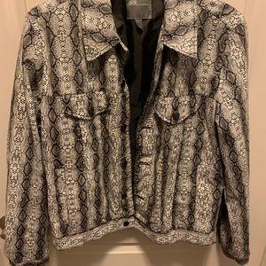ASOS Snakeskin Jacket